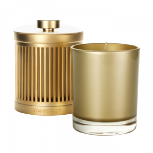 Gold Woman Candle